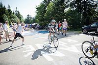 Jan Bakelants (BEL/OmegaPharma-Quickstep) <br /> <br /> 2014 Tour de France<br /> stage 13: Saint-Etiènne - Chamrousse (197km)