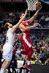 Real Madrid and Crvena Zvezda Telekom during Euroligue Basketball at Barclaycard Center in Madrid, October 22, 2015<br /> Sergio Rodriguez and Jovic.<br /> (ALTERPHOTOS/BorjaB.Hojas)