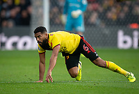 Adrian Mariappa of Watford during the Premier League match between Watford and Manchester United at Vicarage Road, Watford, England on 22 December 2019. Photo by Andy Rowland.