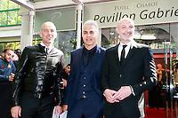 ERIC ROY, GAETAN HUARD & FRANCK LEBOEUF - 25eme Ceremonie des Trophees UNFP au Pavillon Gabriel