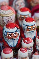Europe/Voïvodie de Petite-Pologne/Cracovie: Marché de Noël sur la Place du Marché: Rynek Pêre Noêl russes