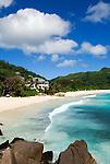 Seychelles, Island Mahe, Anse Intendance: Banyan Tree Hotel