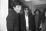 GIGI PROIETTI CON DARIA NICOLODI  PREMIO VALENTINO - LECCE 1981