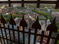 Blick von Rathaus, Subotica, Vojvodina, Serbien, Europa<br /> View from city hall, Subotica, Vojvodina, Serbia, Europe