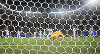 """England""""s Joe Hart Lets in Italy Goal Scored By Claudio Marchisio left"""