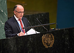 GA 72<br /> High-level meeting of the General Assembly on the appraisal of the United Nations Global Plan of Action to Combat Trafficking in Persons<br /> 25th plenary meeting<br /> <br /> <br /> Azarbaijan