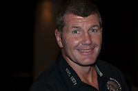 Rob Baxter, Head Coach of Exeter Chiefs, during the Aviva Premiership Rugby launch at Twickenham Stadium on Thursday 25 September 2016 (Photo by Rob Munro/Stewart Communications)