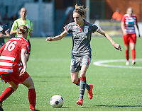 20140419 - ANTWERPEN , BELGIUM : Standard's Tessa Wullaert pictured during the soccer match between the women teams of RAFC Antwerp Ladies  and Standard Femina  , on the 24th matchday of the BeNeleague competition on Saturday 19 April 2014 in Deurne .  PHOTO DAVID CATRY