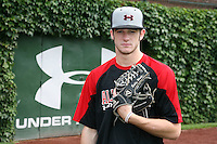 August 7, 2009:  Pitcher Bobby Wahl (19) of the Baseball Factory team during the Under Armour All-America event at Wrigley Field in Chicago, IL.  Photo By Mike Janes/Four Seam Images