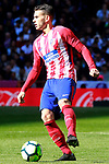 Atletico de Madrid's Lucas Hernandez during La Liga match. April 8,2018. (ALTERPHOTOS/Acero)