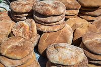 Essaouira, Morocco.  Bread on Sale in the Medina.