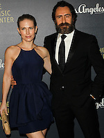 LOS ANGELES, CA, USA - DECEMBER 06: Lisset Gutierrez, Demian Bichir arrive at The Music Center's 50th Anniversary Spectacular held at The Music Center - Dorothy Chandler Pavilion on December 6, 2014 in Los Angeles, California, United States. (Photo by Celebrity Monitor)
