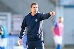 20.02.2021, xtgx, Fussball 3. Liga, FC Hansa Rostock - SV Waldhof Mannheim, v.l. Patrick Gloeckner (Mannheim, Trainer) gibt Anweisungen, gestikuliert mit den Armen, gesticulate, gives instructions <br /> <br /> (DFL/DFB REGULATIONS PROHIBIT ANY USE OF PHOTOGRAPHS as IMAGE SEQUENCES and/or QUASI-VIDEO)<br /> <br /> Foto © PIX-Sportfotos *** Foto ist honorarpflichtig! *** Auf Anfrage in hoeherer Qualitaet/Aufloesung. Belegexemplar erbeten. Veroeffentlichung ausschliesslich fuer journalistisch-publizistische Zwecke. For editorial use only.