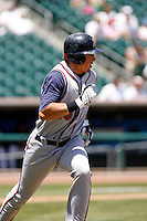 Brian Bogusevic -  Round Rock Express playing against the Sacramento RiverCats at Raley Field, Sacramento, CA - 05/19/2009.Photo by:  Bill Mitchell/Four Seam Images