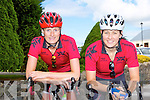 Kenmare cyclists Lisa Stapelbrook and Teresa O'Sullivan who cycled at the Cycling County Championships in Kilcummin on Saturday