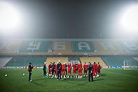USMNT Practice, Kuban Stadium, Russia, November 13, 2012