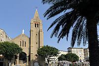 Kirche Notre Dame de Loourde in Bastia, Korsika, Frankreich