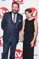 Lee Mack and Sally Bretton<br /> at the TV Choice Awards 2018, Dorchester Hotel, London<br /> <br /> ©Ash Knotek  D3428  10/09/2018