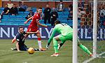 04.08.2019 Kilmarnock v Rangers: Jordan Jones cuts in a shot