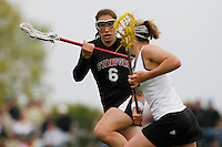 20 June 2006: Jamie Nesbitt during Stanford's 17-9 loss to Northwestern in the first round of the 2006 NCAA Lacrosse Championships in Evanston, IL. Stanford made it to the NCAA's for the first time in school history.