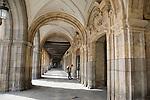 Plaza Mayor Main Square, Salamanca, Castile and Leon, Spain