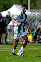 LEEK - Voetbal, Pelikaan S - FC Groningen , voorbereiding seizoen 2021-2022, oefenduel, 03-07-2021, FC Groningen speler Mo El Hankouri