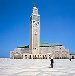 Morocco, Casablanca: Hassan II Mosque | Marokko, Casablanca: Hassan II Moschee