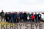 At the Cromane Harbour Co-Operative Society meeting to outline the need for a landing facility and access road for the Cromane Fishing Industry members of the Castlemaine Harbour Co-Operative Society were joined by local politicians.