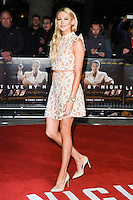 """Stephanie Pratt<br /> at the """"Live by Night"""" premiere at BFI South Bank, London.<br /> <br /> <br /> ©Ash Knotek  D3217  11/01/2017"""