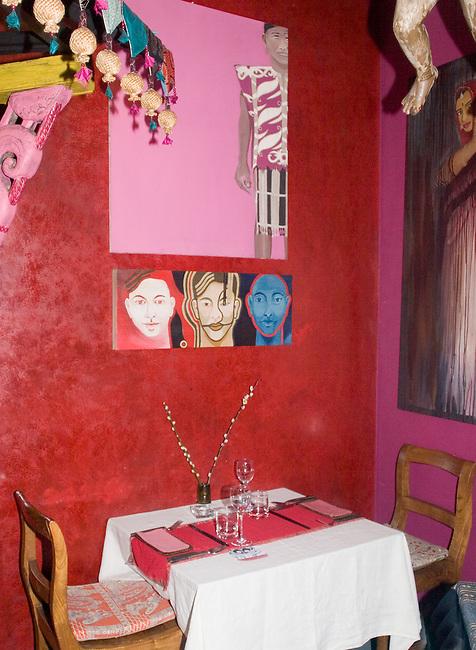Table Setting, Champor Restaurant, London, England