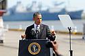 President Barack Obama at Port of New Orleans