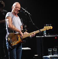 SMG_Sting_Fillmore_111211_01.JPG<br /> <br /> MIAMI BEACH, FL - NOVEMBER 12  Sting during his performance of his Back To Bass Tour at The Fillmore Miami Beach. Sting (born Gordon Matthew Thomas Sumner on 2 October 1951), CBE, is an English musician, singer-songwriter, activist, actor and philanthropist. Prior to starting his solo career, he was the principal songwriter, lead singer and bassist of the rock band The Police.<br /> <br /> Sting has varied his musical style throughout his career, incorporating distinct elements of jazz, reggae, classical, new age, and worldbeat into his music.  As a solo musician and member of The Police, Sting has received sixteen Grammy Awards for his work, receiving his first Grammy for Best Rock Instrumental Performance in 1981, and several Oscar nominations for Best Original Song. He is a member of both the Rock and Roll Hall of Fame and the Songwriters Hall of Fame.   on November 12, 2011 in Miami Beach, Florida. .   (Photo By Storms Media Group) <br /> <br /> People:   Sting<br /> <br /> Must call if interested<br /> Michael Storms<br /> Storms Media Group Inc.<br /> 305-632-3400 - Cell<br /> 305-513-5783 - Fax<br /> MikeStorm@aol.com