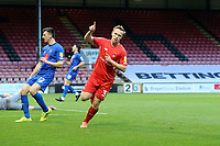 O's Danny Johnson scores O's frist goal and celebrtes during Leyton Orient vs Harrogate Town, Sky Bet EFL League 2 Football at The Breyer Group Stadium on 21st November 2020