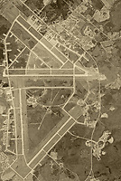 aerial photo map of Andrews Air Force Base, Prince George's county, Maryland, 1949