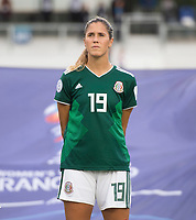 Cary, NC - October 10, 2018:  Panama defeated Mexico 2-0 during the group stage of the 2018 CONCACAF Women's Championship at WakeMed Soccer Park.