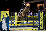 Michelle Li of Hong Kong riding Fiona DEcaussinnes competes in the JETS Challenge during the Longines Masters of Hong Kong at AsiaWorld-Expo on 10 February 2018, in Hong Kong, Hong Kong. Photo by Ian Walton / Power Sport Images