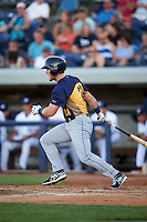 Burlington Bees right fielder Jared Walsh (21) at bat during a game against the West Michigan Whitecaps on July 25, 2016 at Fifth Third Ballpark in Grand Rapids, Michigan.  West Michigan defeated Burlington 4-3.  (Mike Janes/Four Seam Images)
