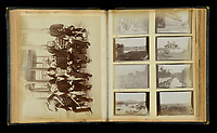 BNPS.co.uk (01202 558833)<br /> Pic: DixNoonanWebb/BNPS<br /> <br /> Pictured: The photo album.<br /> <br /> The 'historically important' journal of a hero British doctor who was in the thick of the action during the Siege of Peking has been unearthed 121 years on.<br /> <br /> Dr Wordsworth Poole was mentioned in despatches for his gallantry as physician to the British Legation during the Boxer Rebellion.<br /> <br /> In the summer of 1900, Imperial Chinese Army troops besieged 900 foreign diplomats, soldiers and citizens from a host of nations including Britain, France and Germany.