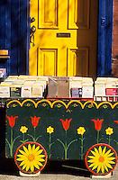 Amérique/Amérique du Nord/USA/Etats-Unis/Vallée du Delaware/Pennsylvanie/Philadelphie : Quartier des antiquaires sur Pine Street - Librairie bouquiniste sur 10 ST