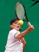 8-8-09, Asten,NJK, Tennis, Guus Koevermans