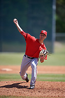 Washington Nationals pitcher A.J. Bogucki (59) delivers a pitch during a minor league Spring Training game against the St. Louis Cardinals on March 27, 2017 at the Roger Dean Stadium Complex in Jupiter, Florida.  (Mike Janes/Four Seam Images)
