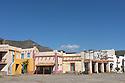 Spain - Andalusia - A Mexican pueblo set located in Fort Bravo Western-styled village in the Tabernas Desert.
