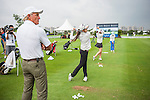Coaching Clinic by Greg norman with the China National Junior Team during the Mission Hill Celebrity Pro-Am on 23 October 2014, in Haikou, China. Photo by Xaume Olleros / Power Sport Images
