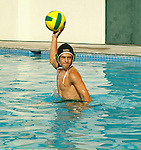 South High School Water Polo Team individual photo.