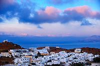 Sunrise over the Cyclades Island of Ios, Greece