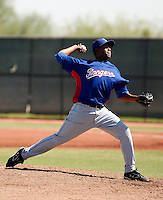 Francisco Mendoza - Texas Rangers 2009 Instructional League. .Photo by:  Bill Mitchell/Four Seam Images..