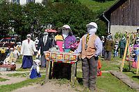 Puupenausstellung in Sabile, Lettland, Europa