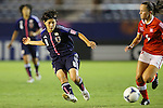 Hikaru Naomoto (JPN), .AUGUST 26, 2012 - Football / Soccer : .FIFA U-20 Women's World Cup Japan 2012, Group A .match between Japan 4-0 Switzerland .at National Stadium, Tokyo, Japan. .(Photo by Daiju Kitamura/AFLO SPORT)