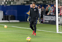 Carson, CA - Sunday January 28, 2018: Zack Steffen during an international friendly between the men's national teams of the United States (USA) and Bosnia and Herzegovina (BIH) at the StubHub Center.