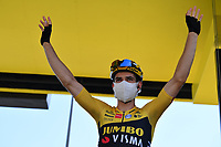 5th September 2020, Grand Colombier, France;  VAN AERT Wout (BEL) of TEAM JUMBO - VISMA during stage 8 of the 107th edition of the 2020 Tour de France cycling race, a stage of 140 kms with start in Cazeres-sur-Garonne and finish in Loudenvielle